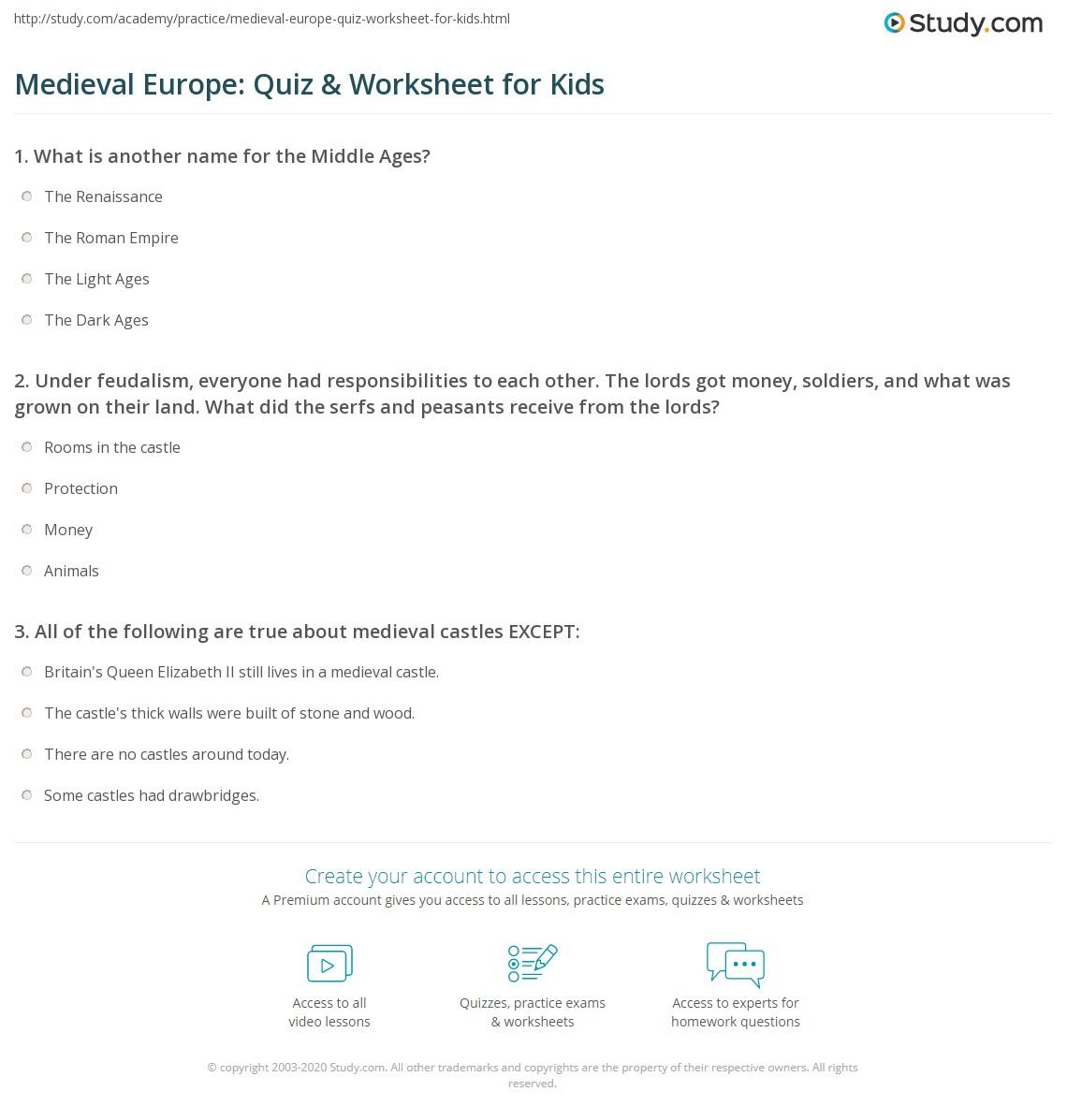 Me Val Europe Quiz Amp Worksheet For Kids