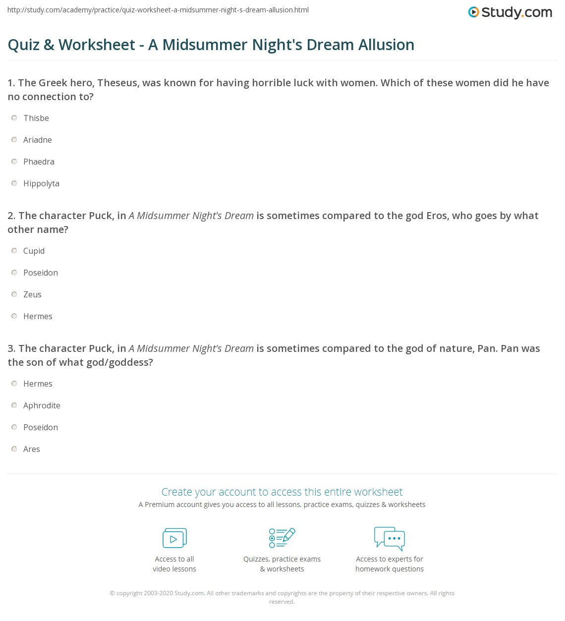 hight resolution of Allusions Worksheet Answers   Printable Worksheets and Activities for  Teachers