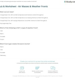 29 Air Masses And Fronts Worksheet Answers - Worksheet Resource Plans [ 1121 x 1140 Pixel ]