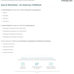 There Will Come Soft Rains Plot Diagram Pioneer Dvc Wiring Quiz Worksheet An American Childhood Study Com Already Registered Login Here For Access