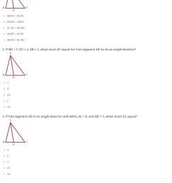 Quiz \u0026 Worksheet - Angle Bisector Theorem   Study.com [ 1784 x 1140 Pixel ]