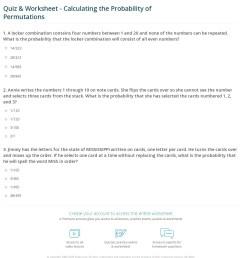 35 Permutation And Combination Worksheet Answers - Free Worksheet  Spreadsheet [ 1316 x 1140 Pixel ]