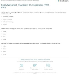 Immigration Reading Worksheet   Printable Worksheets and Activities for  Teachers [ 1236 x 1140 Pixel ]