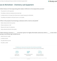 Biology Lab Equipment Worksheet - Worksheet List [ 1149 x 1140 Pixel ]