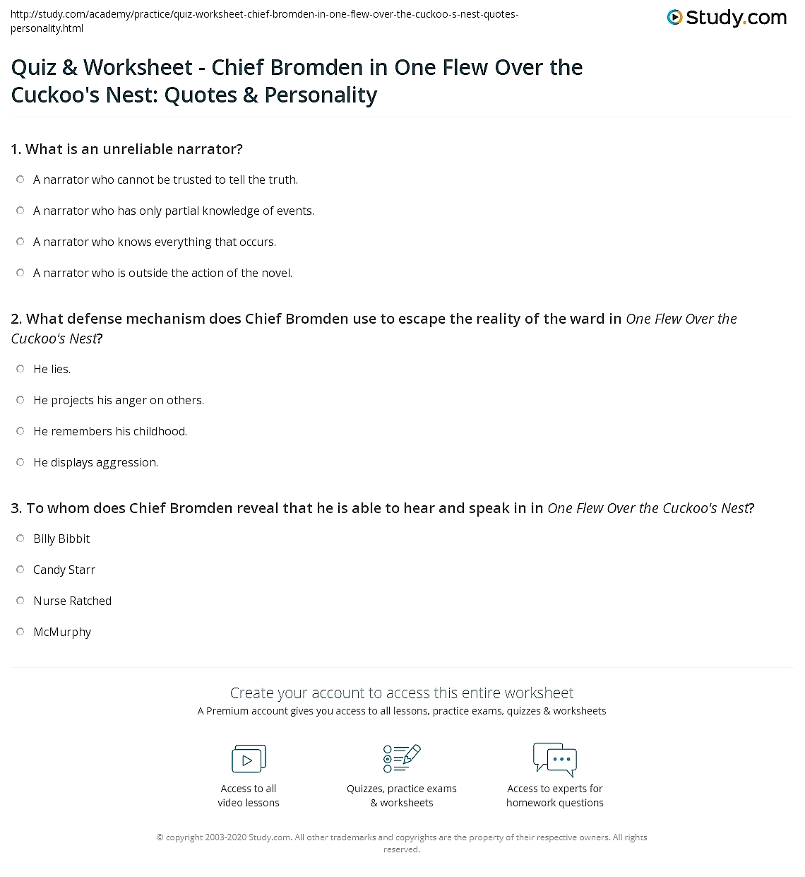 Worksheets Defense Mechanisms Worksheet quotes about defense mechanisms worksheets math picture quiz worksheetchief bromden in one flew over the cuckoos what defense