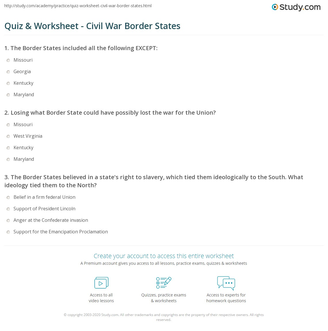 Second Grade Vocabulary Worksheet Civil War