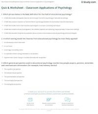 Printable Psychology Worksheets - Bing images