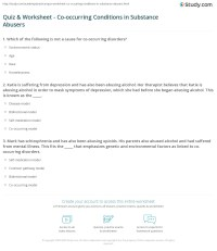 worksheet. Co-occurring Disorders Worksheets. Grass Fedjp ...