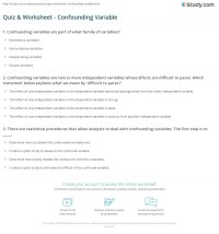Experimental Variables Worksheet. Worksheets. Tutsstar ...