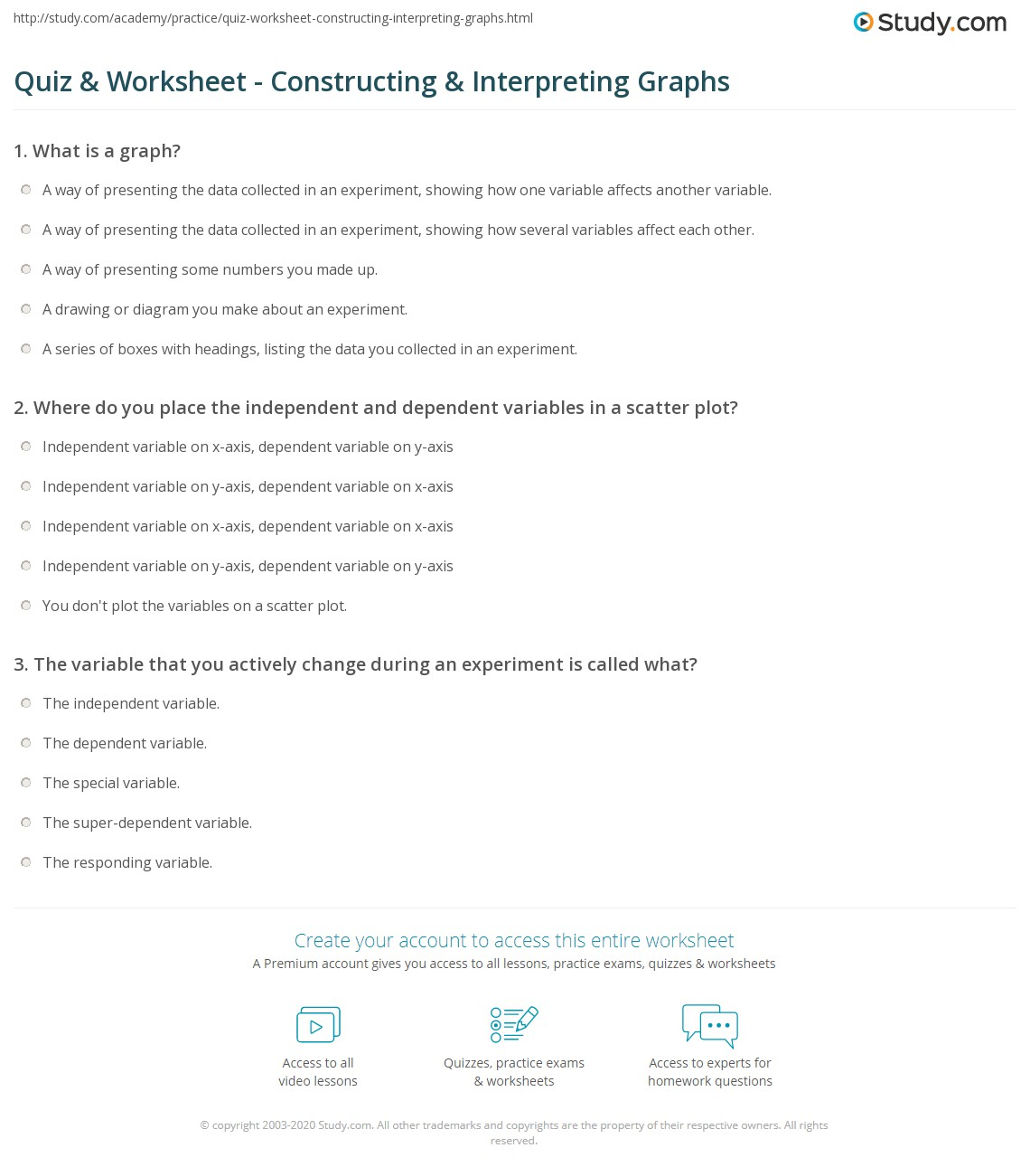 26 Interpreting Graphics Worksheet Answers Chemistry