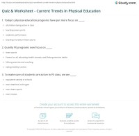 Pe Worksheets - Bluegreenish