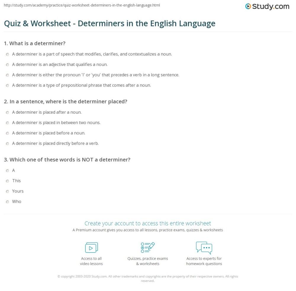 medium resolution of 40 FREE DOWNLOAD ENGLISH GRAMMAR DETERMINERS TEST PDF DOC