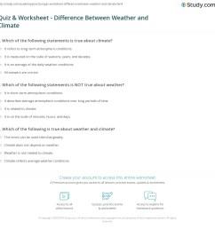 30 Weather Vs Climate Worksheet - Worksheet Project List [ 1160 x 1140 Pixel ]