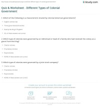 American Government Worksheet