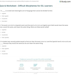 False Cognates Worksheet   Printable Worksheets and Activities for  Teachers [ 1177 x 1140 Pixel ]