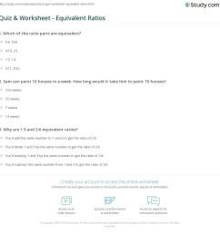 Quiz \u0026 Worksheet - Equivalent Ratios   Study.com [ 1169 x 1140 Pixel ]