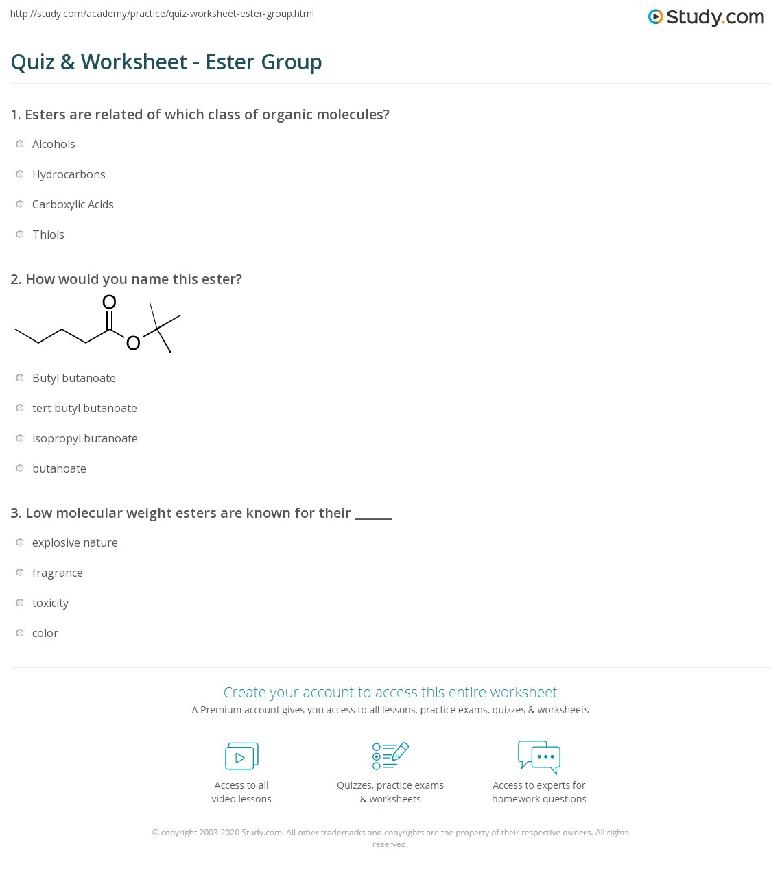 Worksheet Organic Molecules Worksheet Grass Fedjp