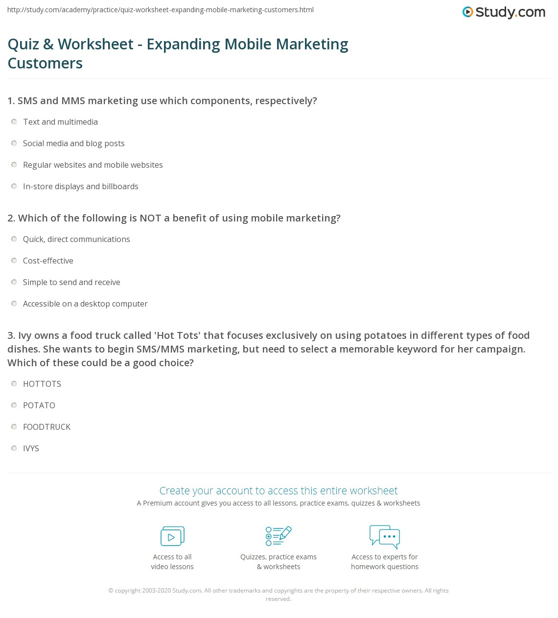 M M S Website Worksheet Answers