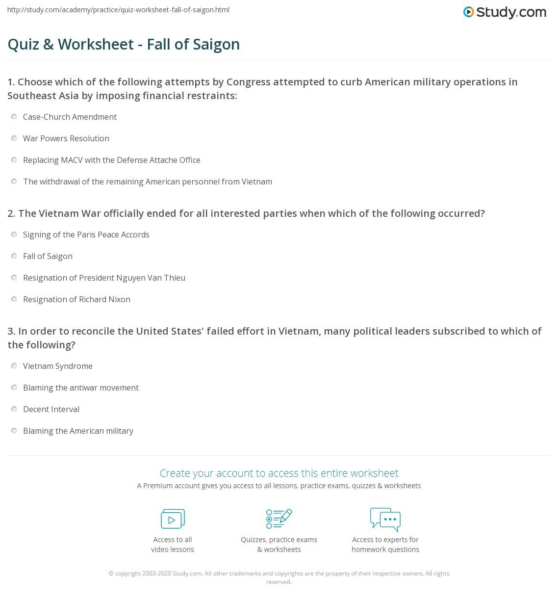 Presidents Timeline Worksheet