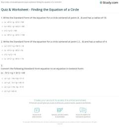 27 Equations Of Circles Worksheet Answer Key - Worksheet Resource Plans [ 1201 x 1140 Pixel ]