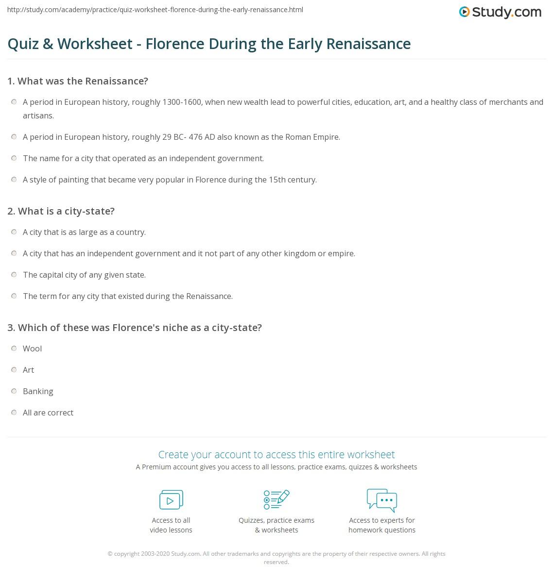 Worksheet Renaissance Worksheets Grass Fedjp Worksheet