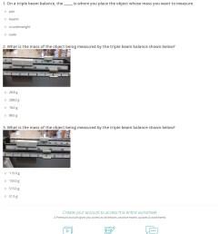 Measuring Mass Practice Worksheet - Nidecmege [ 1513 x 1140 Pixel ]