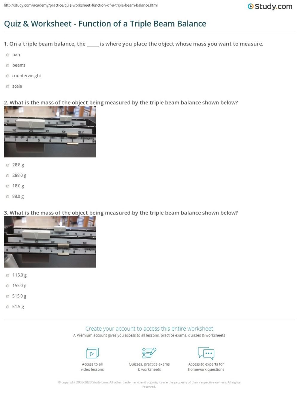 medium resolution of Measuring Mass Practice Worksheet - Nidecmege