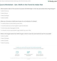 French And Indian War Worksheet Answers - Promotiontablecovers [ 1169 x 1140 Pixel ]