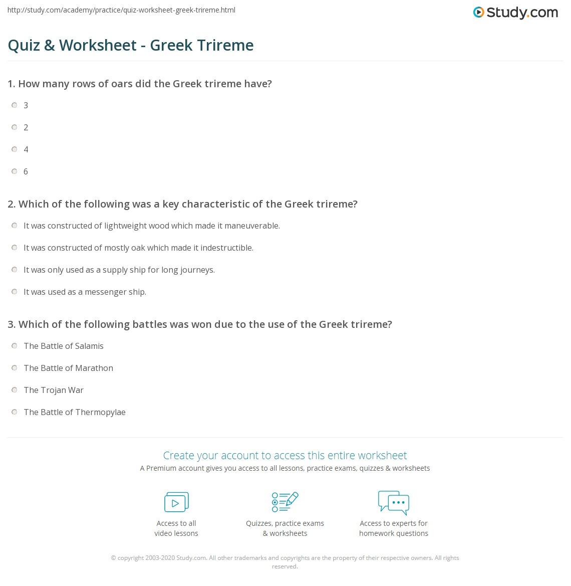 hight resolution of print greek trireme definition facts diagram worksheet