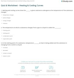 Quiz \u0026 Worksheet - Heating \u0026 Cooling Curves   Study.com [ 1225 x 1140 Pixel ]