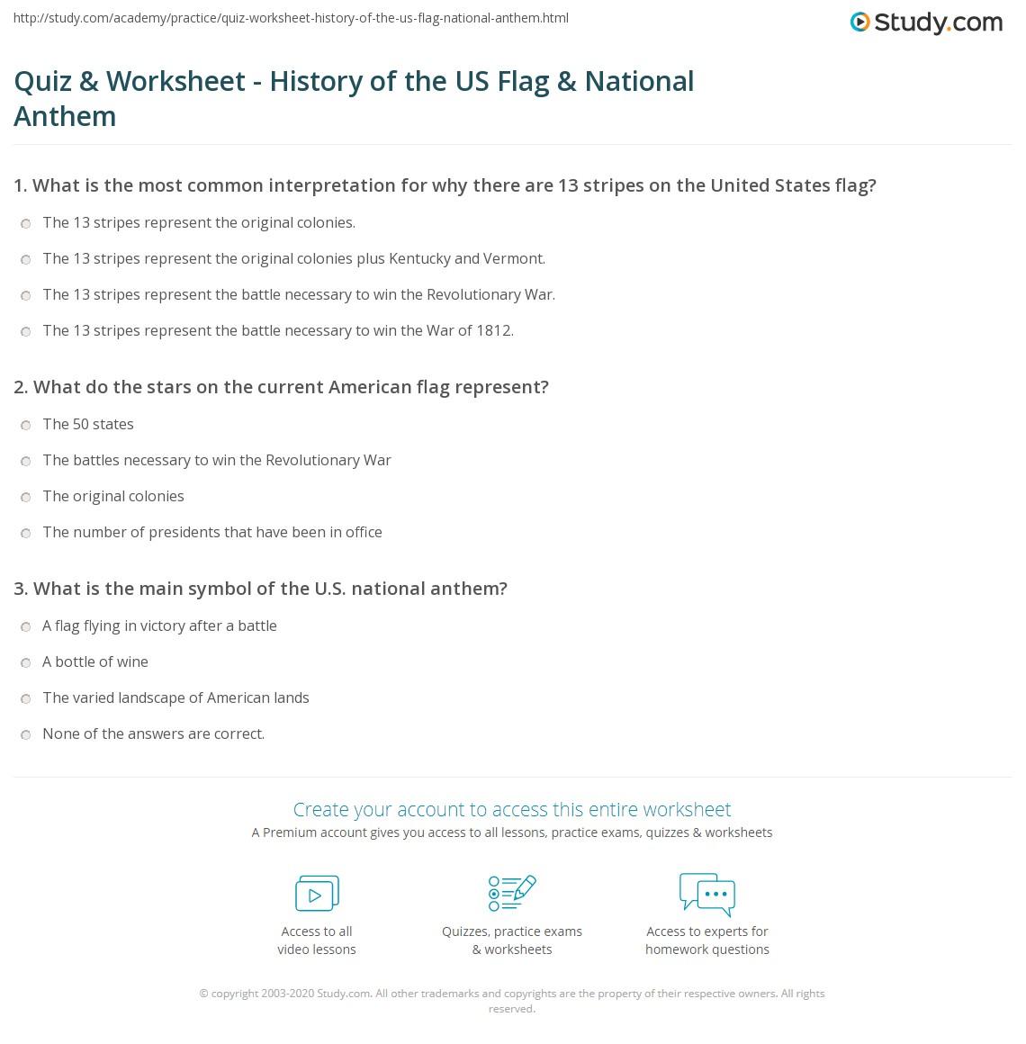 Worksheets American Symbols Worksheet Waytoohuman Free