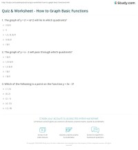 Understanding Graphing Worksheet Answers - Kidz Activities