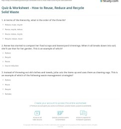 32 Reduce Reuse Recycle Worksheet - Worksheet Project List [ 1248 x 1140 Pixel ]