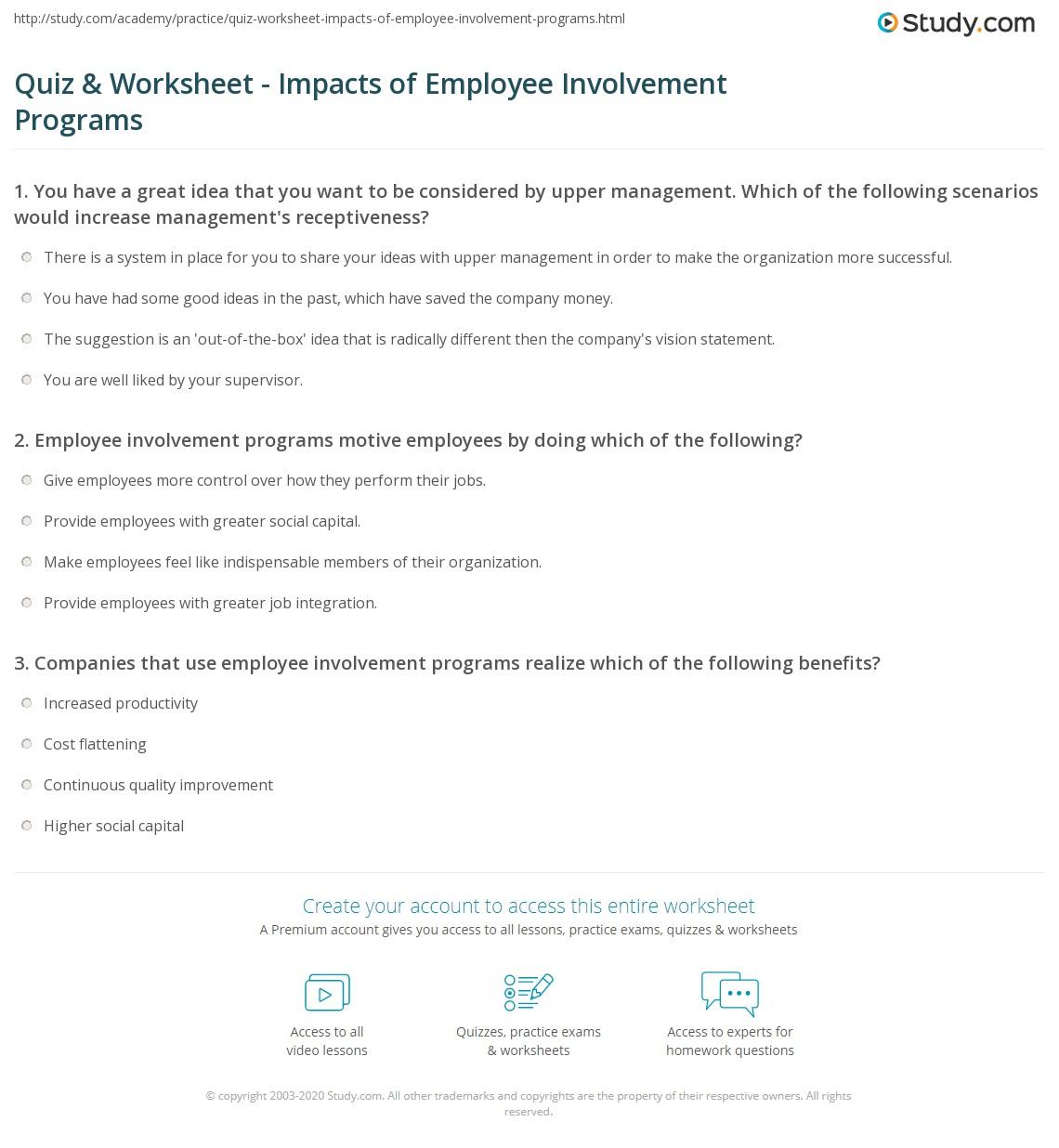 Sample Worksheet For Employees