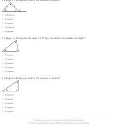 Quiz \u0026 Worksheet - Interior and Exterior Angles of Triangles   Study.com [ 1625 x 1140 Pixel ]