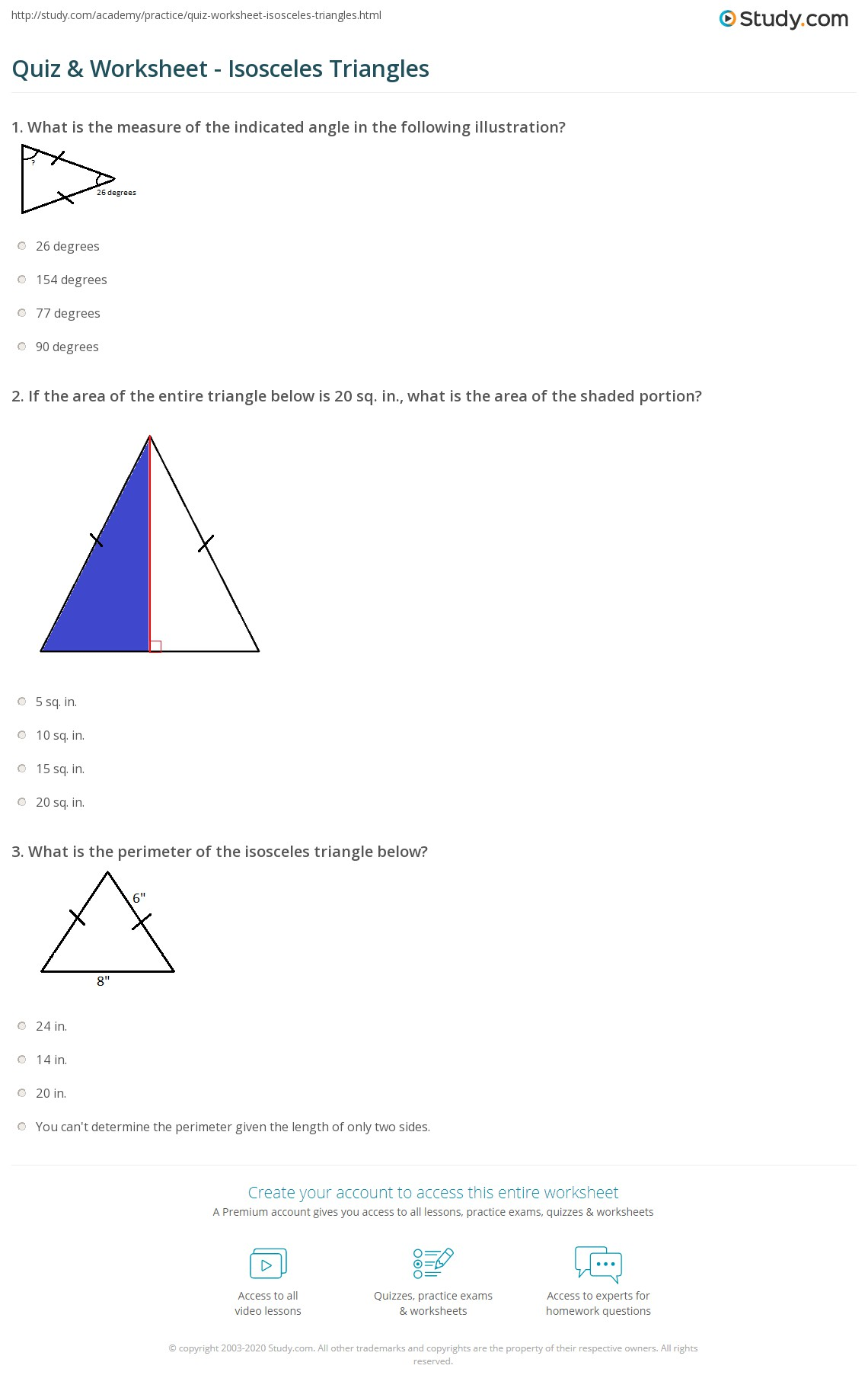Worksheet Area Of Triangle Worksheet Worksheet Fun