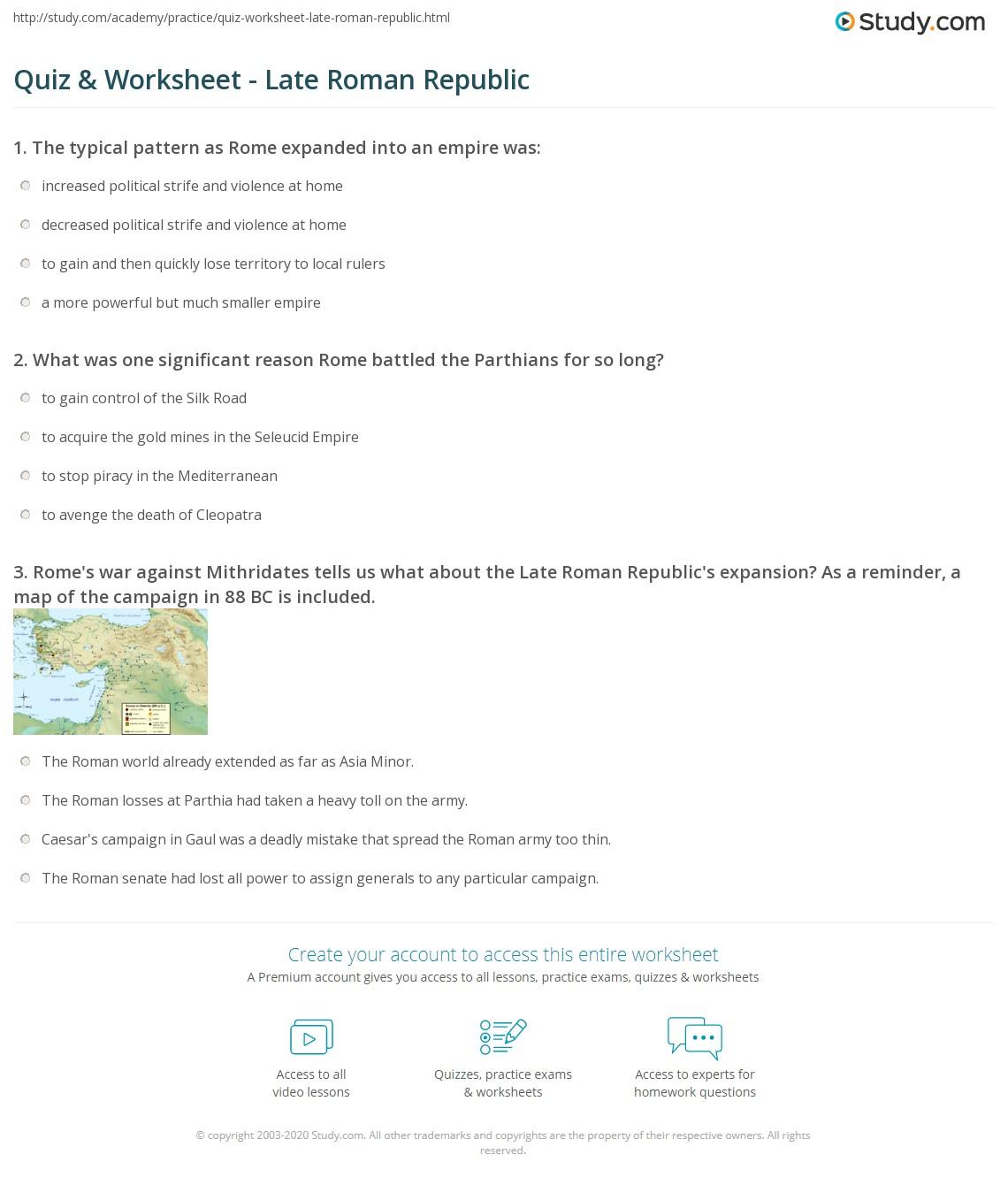 Asia Map Quiz Worksheet