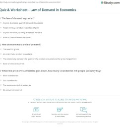 35 Law Of Demand Worksheet - Worksheet Project List [ 1169 x 1140 Pixel ]