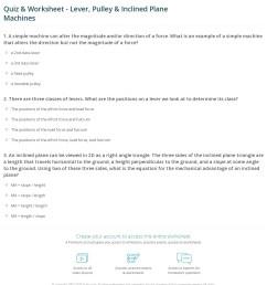 Quiz \u0026 Worksheet - Lever [ 1320 x 1140 Pixel ]