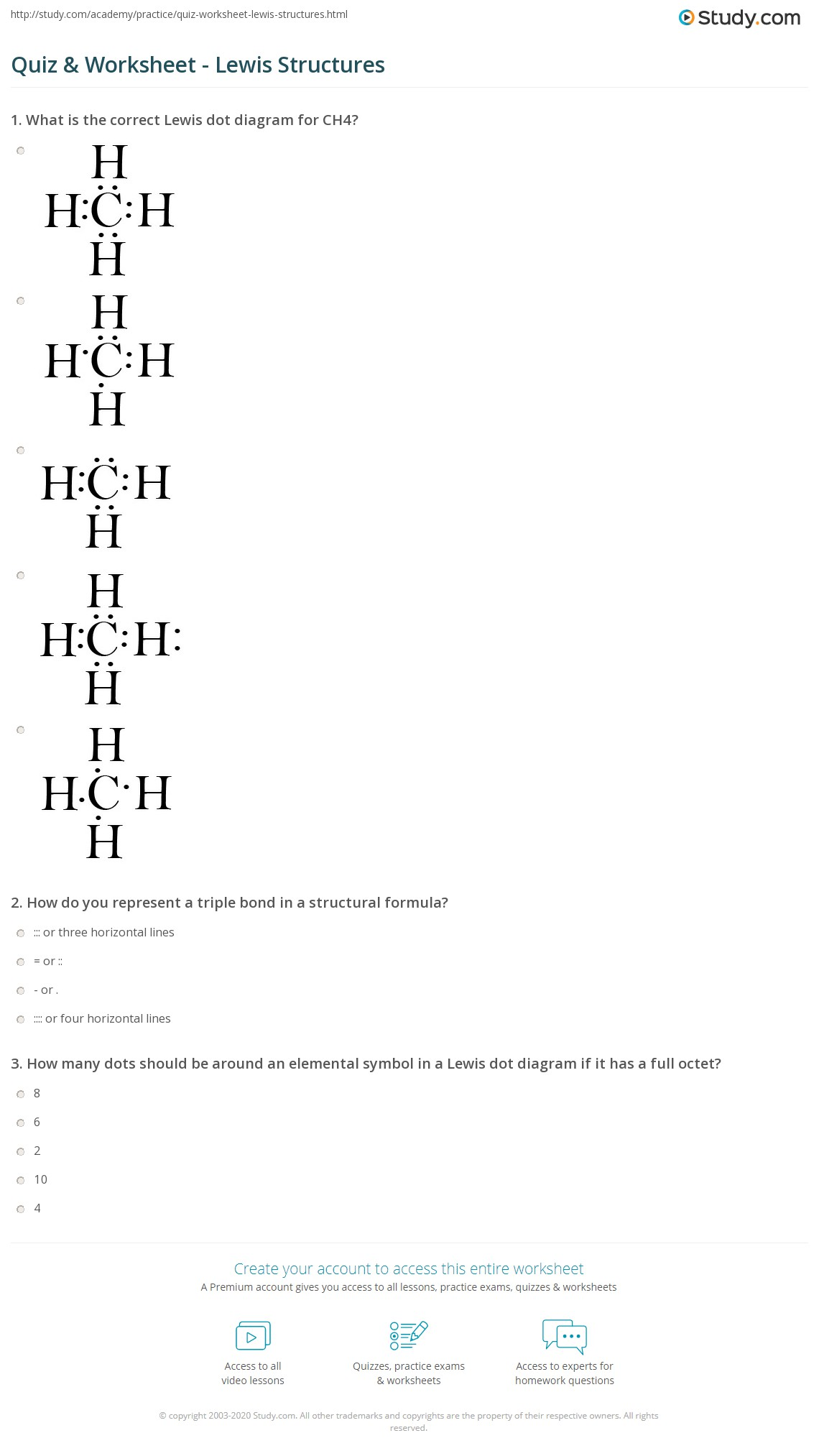 hight resolution of print lewis structures single double triple bonds worksheet