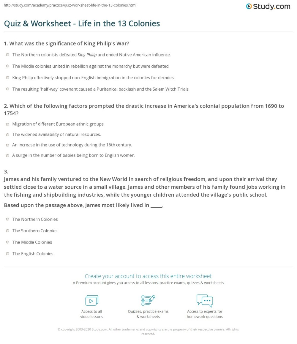 medium resolution of Middle Colonies Worksheet And Grade 2   Printable Worksheets and Activities  for Teachers