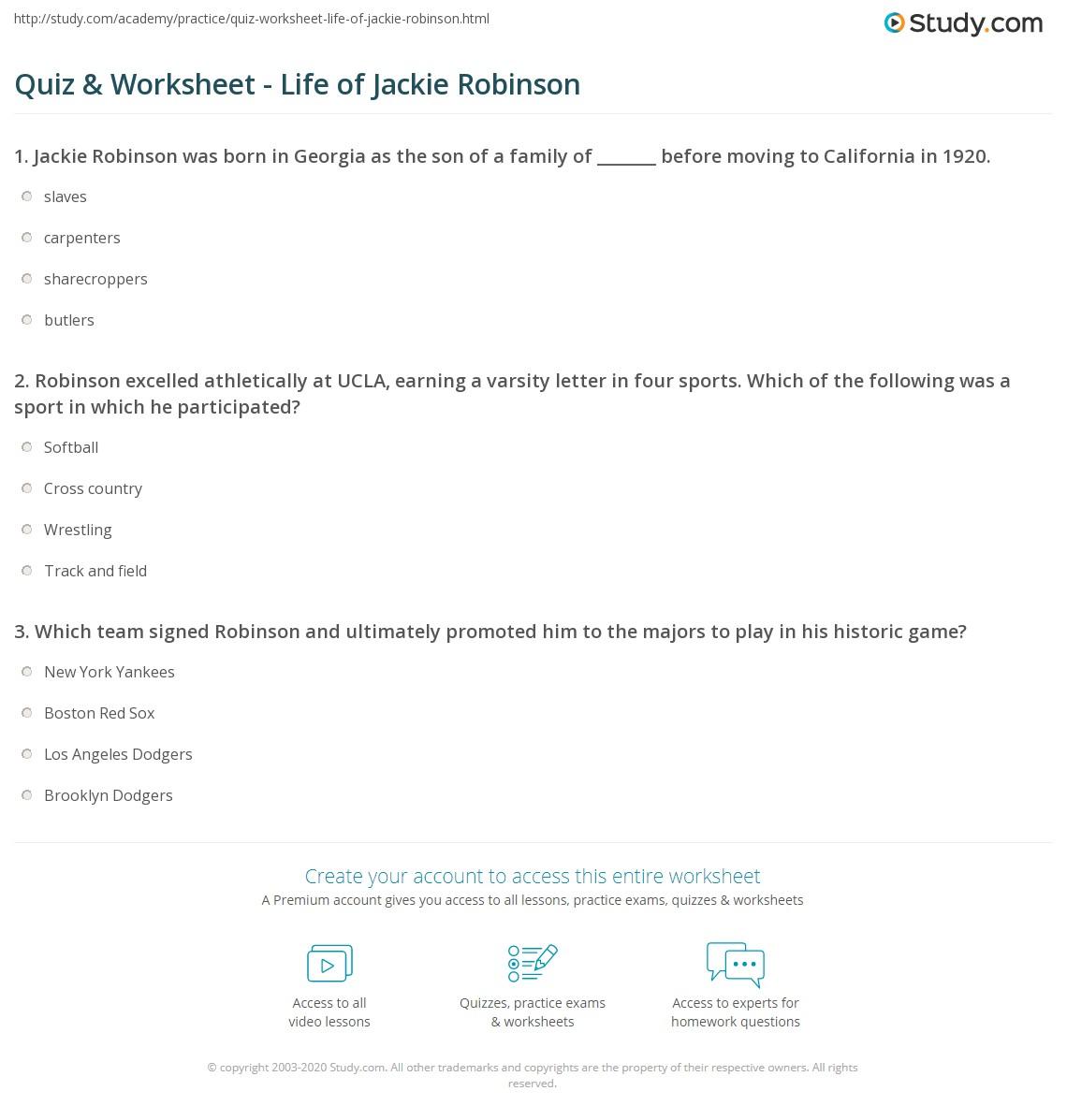 Jackie Robinson Paper Outline 100 Original