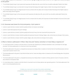Worksheet Elements Of Poetry   Printable Worksheets and Activities for  Teachers [ 1553 x 1140 Pixel ]