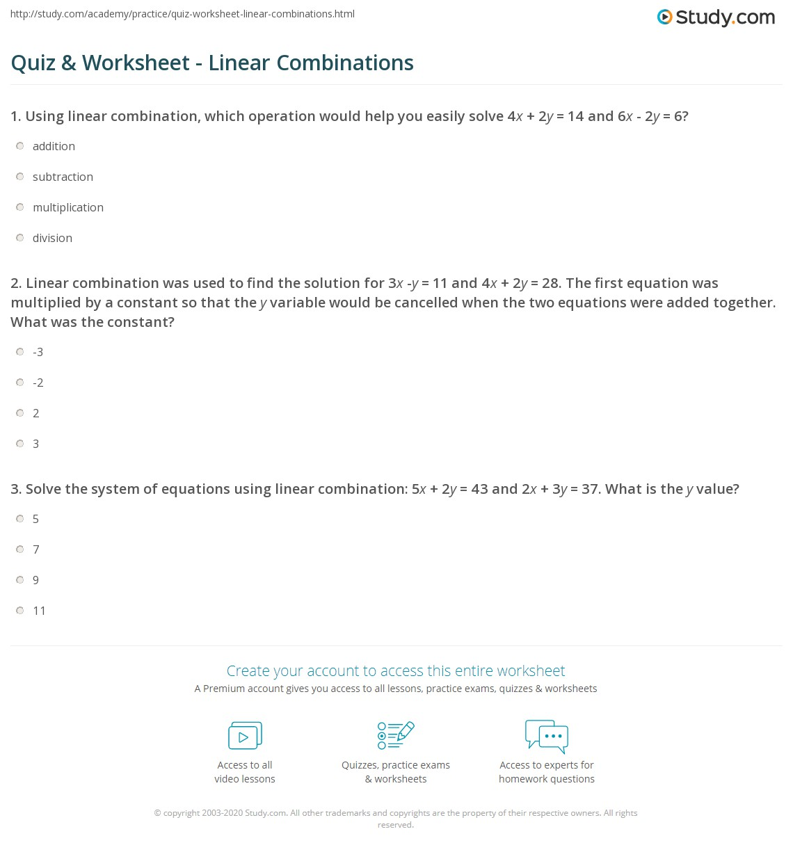 3 8 Skills Practice Solving Systems Of Equations Using Inverse Matrices Answer Key