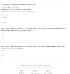 Quiz \u0026 Worksheet - Meiosis   Study.com [ 1457 x 1140 Pixel ]