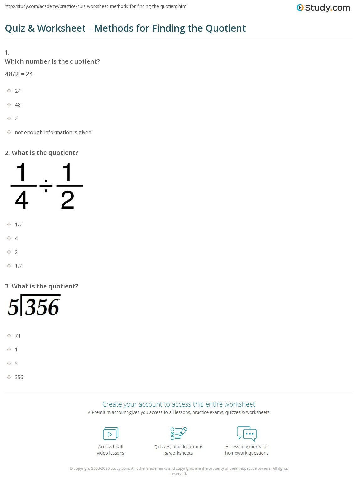 Worksheets Partial Quotients Worksheet Bumdig Free