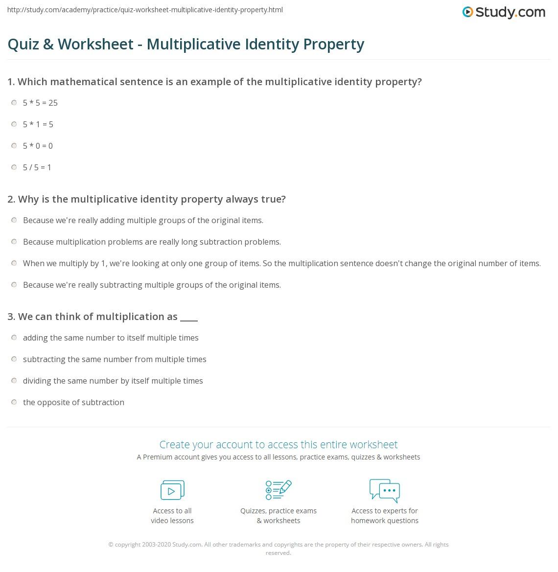 Worksheet Properties Definition Math Grass Fedjp Worksheet Study Site