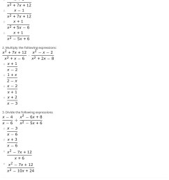 Quiz \u0026 Worksheet - Multiply \u0026 Divide Rational Expressions   Study.com [ 1775 x 1140 Pixel ]
