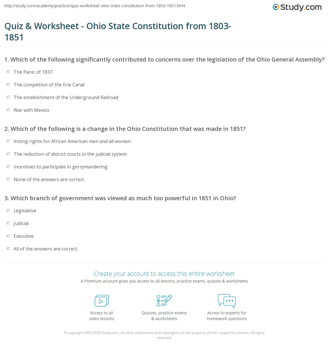 The Great State Icivics Answers