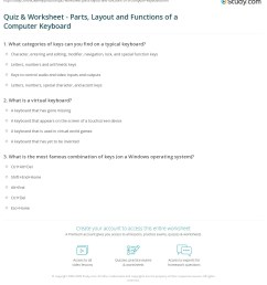 Quiz \u0026 Worksheet - Parts [ 1252 x 1140 Pixel ]